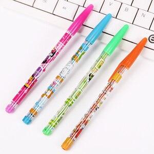 1PC DIY śliczne Kawaii dziewczyna Panda ołówek HB bezpłatne transformacja plastikowy ołówek do szkicu rysunek materiały malarskie