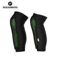 RockBros Knee Pad Bicycle Cycling Sports Knee Caps MTB Road Bike Anticollision Calf Pads Basketball Volleyball