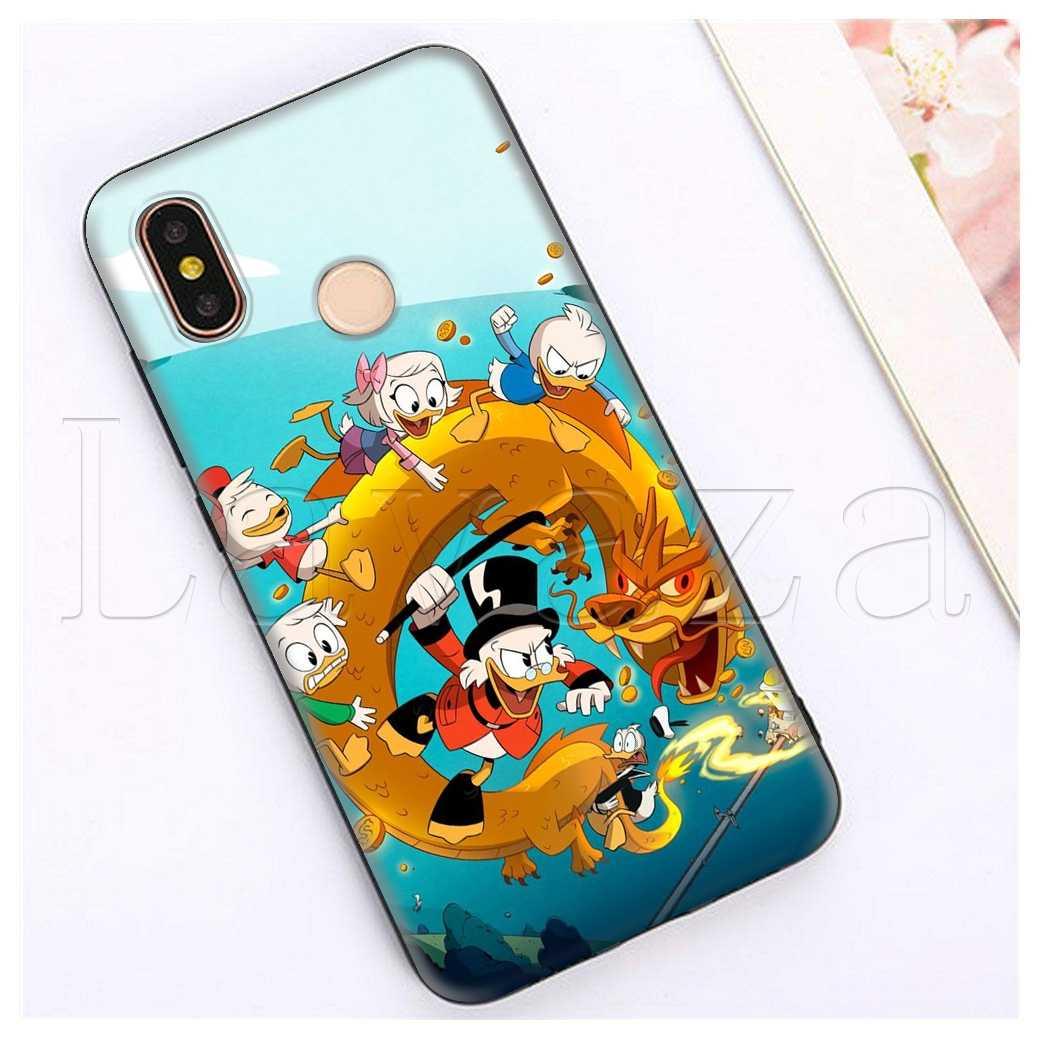 Lavaza Minnie Mickey Pato Donald Dos Desenhos Animados Case para Xiaomi Redmi Nota 4 4X 4A 5 5A 6 6a 7 Pro ir Prime Plus