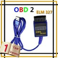 ELM327 OBD2 OBDII USB Car Auto Diagnostic Scan Tools Scanner Reader Cable,Free Shipping