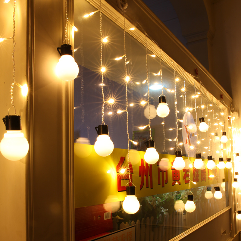 Indoor String Lights Curtain : Online Get Cheap Indoor Curtain Lights -Aliexpress.com Alibaba Group