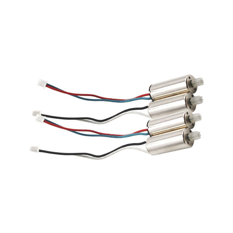 все цены на 4pcs/set Original Motor For SYMA X56 X56W Quadcopter Spare Parts RC Helicopter Drone Accessories онлайн