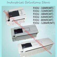 FX3U-64MR/ES-A FX3U-64MR ES-A FX3U-80MT/ES-A 16MR 32MR 80MR 64MR 48MR 128MR MT новой коробке PLC на