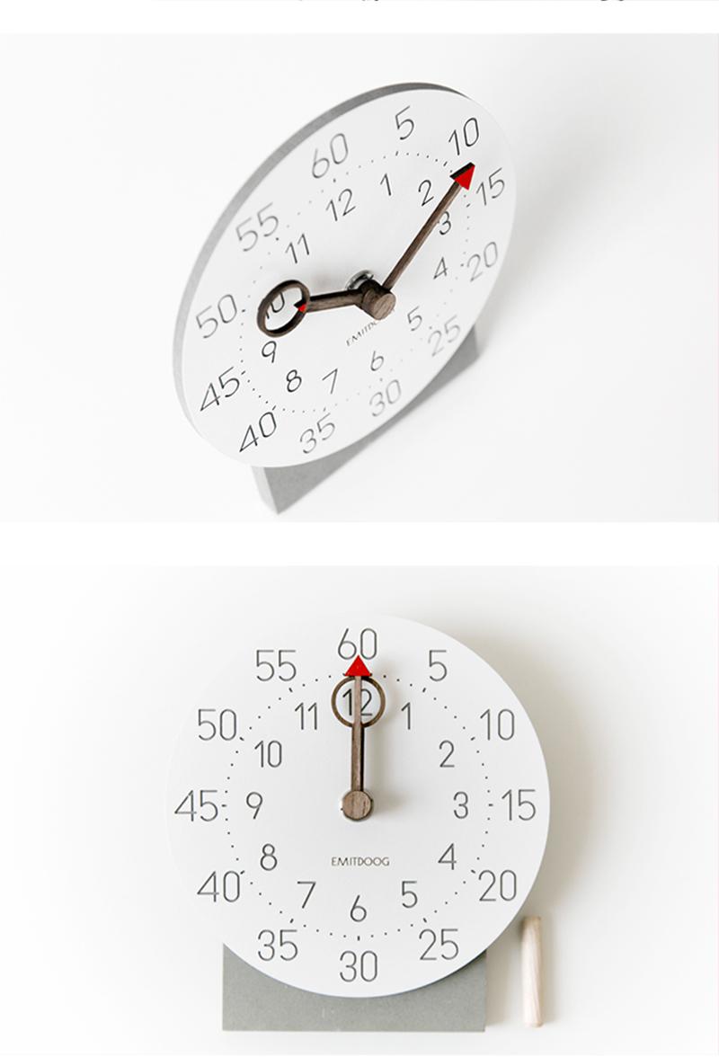 retro clock with time projection clock vintage reloj mesa vintage reloj antiguo automobile clock alarm clock bedroom clock clock flip watch table table clock (13)