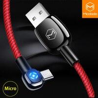 Mcdodo Micro USB кабель 2A для samsung huawei Xiaomi Быстрая зарядка автоматическое отключение данных USB кабель Andriod телефон Micro USB кабель