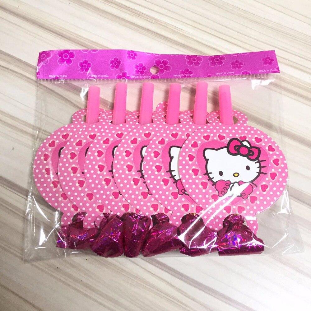 Us 1 5 24 Off 6 Pcs Grosir Hello Kitty Tema Ledakan Dekorasi Pesta Bayi Bahagia Ulang Tahun Pernikahan Perlengkapan Pesta Acara Untuk Anak Anak Di