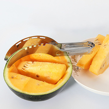Stainless steel watermelon slicer Multi-function fruit divider Hami melon cutter Kitchen Accessories
