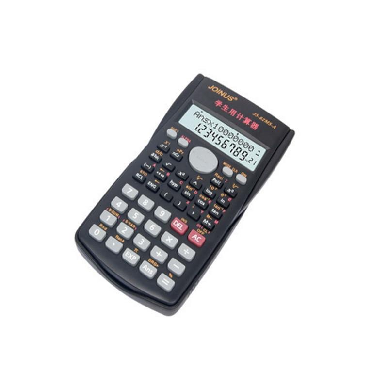 82ms-a Multi-Функция 2-линия студент Функция калькулятор ЖК-дисплей Дисплей научный калькулятор Счетчик Расчет машина