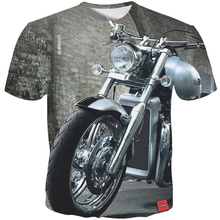 Cloudstyle Mens t shirt New Summer 3D Printing Motorcycle Cool tshirt Men/Women Tops Tees Fashion Short Sleeve Plus Size 5XL