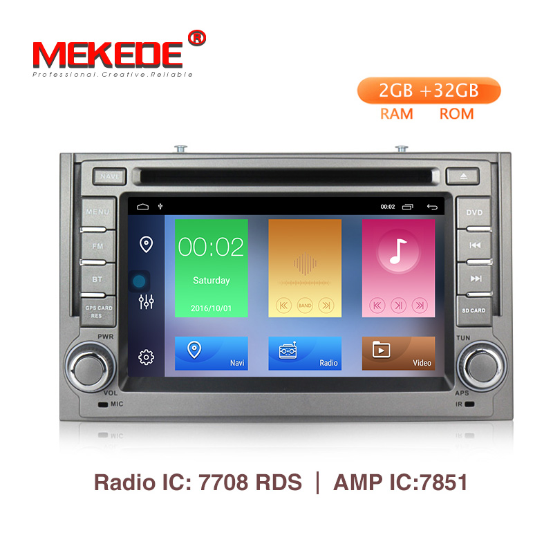 Mekede 2din android 9 dvd Car Radio Multimedia Video Player For Hyundai H1 Grand Starex 2007