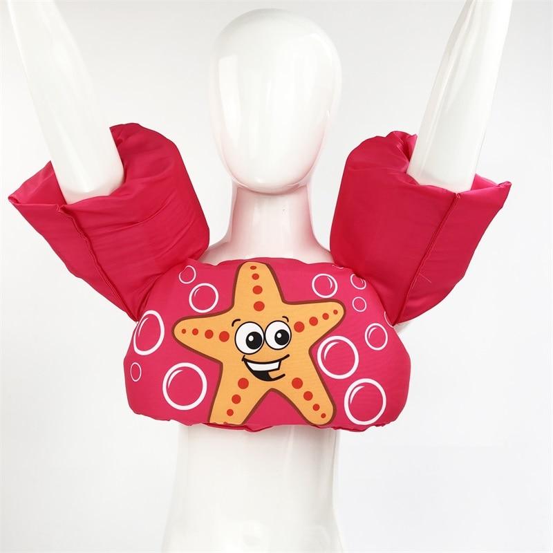 Usia 2-6 Busa Kartun Bayi Arm Cincin buoyancy rompi bayi garmen - Olahraga air - Foto 5