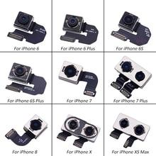 Netcosy большая камера задняя камера Модуль гибкий кабель, сменная деталь для iPhone 6 6 Plus 6S 6S Plus 7 7 Plus 8 X XS MAX