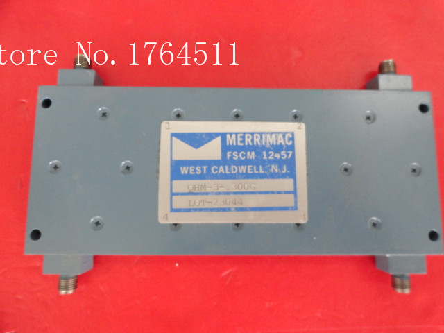 [BELLA] MERRIMAC QHM-3-.300G 100-500MH 3dB SMA Supply Bridge