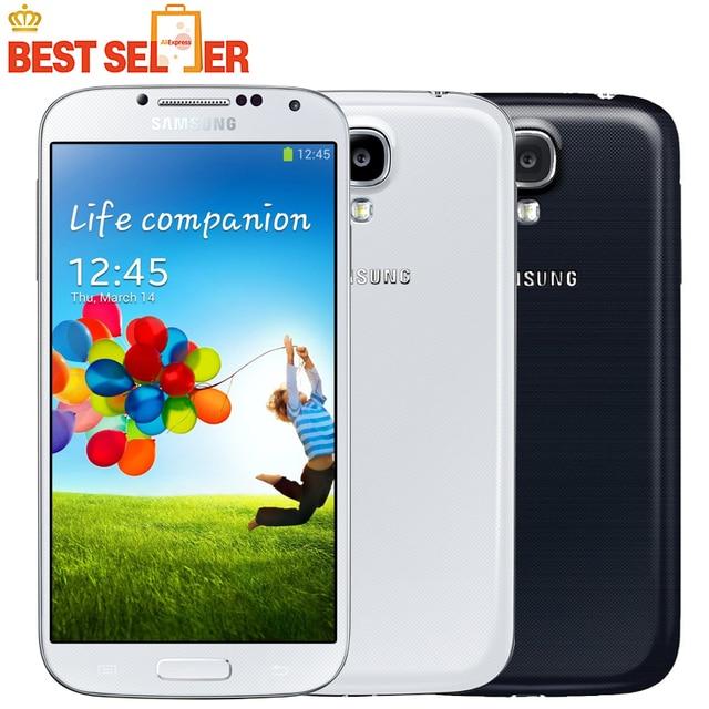 I9505 Original Unlocked Samsung Galaxy S4 i9505 Smartphone 4G Quad Core 5.0 inch NFC GPS 13MP Camera Refurbished Mobile Phone