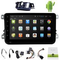 Android 4.4 Автомобильные ПК Планшеты двойной 2Din Аудио 8 ''GPS навигации стерео Радио без DVD плеер для VW passat Jetta Мужские поло Гольф EOS