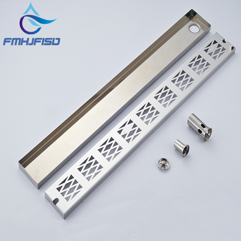 Wholesale And Retail Bathroom Floor Drain Shower Floor Filler Grid Style Grate Waste Deodorang Sealing Accessories wholesale and retail luxury brushed nickel floor drain grill bath shower tub floor filler grate waste deodorant sealing