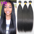 7A Indian Straight Virgin Hair 4 Bundles 100% Unprocessed Indian Straight Human Hair Extensions Remy Indian Virgin Hair Straight