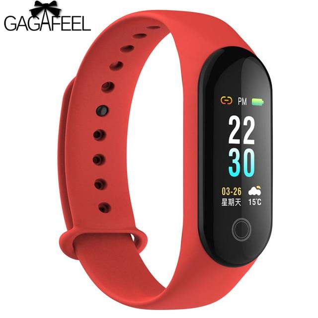 GAGAFEEL M3 Smart Band Bracelet Fingerprint Color Screen IP67 Waterproof Smartwa