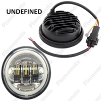 Motorbike Parts 4 1 2 LED Auxiliary Passing White Halo DRL High Quality Fog Light Lamps