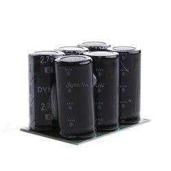 Фарадные конденсаторы 2,7 в 120F 6 шт. супер конденсатор с защитой доска Новый