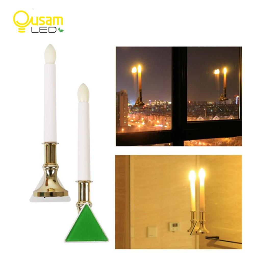 LED Electronic Candle Light With Sensor Bougie Lamp Flickering USB Charging For Wedding Christmas Decoration 2PCS/lot