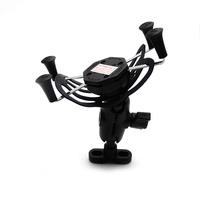 Motorcycle X Grip GPS Mobile Phone Holder Navigation Bracket For BMW R1200GS R1200ADV R NINE T K1200R K1300R F800R/GT R1150GS