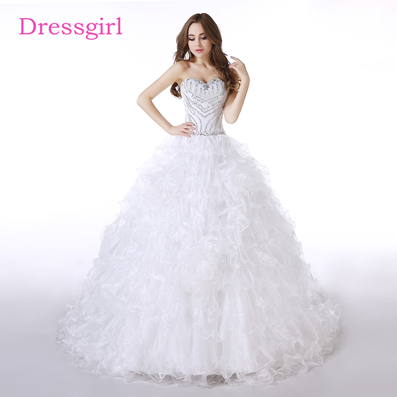 Buy cheap quinceanera gowns white and get free shipping on AliExpress.com 73b08d621e47