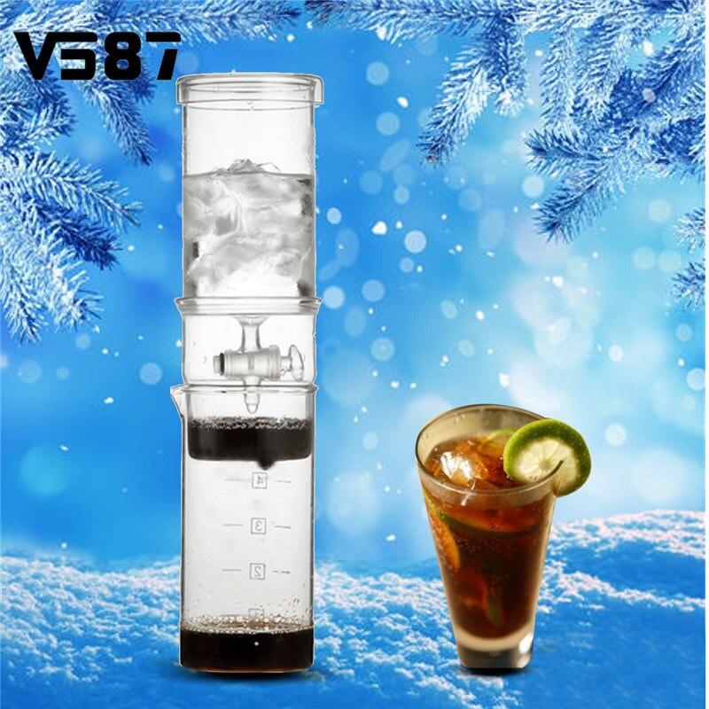 400ML Home Classic Cold Brew Coffee Iced Coffee Maker Cold Drip Coffee Dutch Ice Coffee Maker