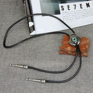 Image 5 - Original designer bolotie stainless steel resin eye  bolo tie for men personality neck tie fashion accessory
