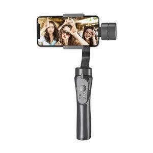 Image 2 - 3 achse Handheld Gimbals Smartphone Stabilisator Eingebaute Lithium Batterie für iPhone Xs Max/Xs/X/8 plus für Samsung Huawei Xiaomi