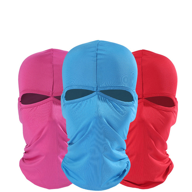 Motorcycle Face Mask Summer Unisex Breathable Balaclava Moto Mask Ski Motorcycle Paintball Tactical Face Shield Hood 1