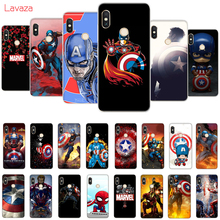 Lavaza Captain America Hard Case for Huawei Mate 10 20 P10 P20 Lite Pro P smart 2019 Honor 8X 9 Cover