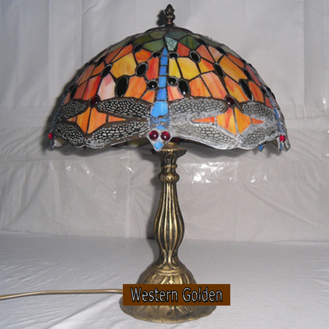 Factory directly supply european style lighting 14 inch dragonfly factory directly supply european style lighting 14 inch dragonfly tiffany table lamp living room aloadofball Images