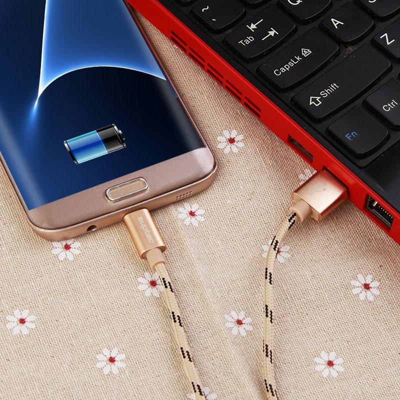 Cable micro USB SUPTEC, cable de cargador de teléfono móvil con - Accesorios y repuestos para celulares - foto 4