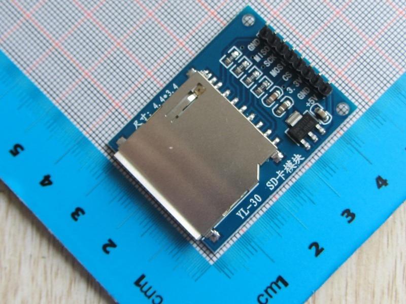 Brand New 2pcs SD Card Module SD Card Reader Module SPI Interface Module