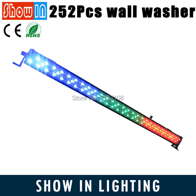252*10MM Indoor UV Wash Beam LED Purple Wall Washer Light DMX Lumiere DJ Disco Party Stage Lighting Effect Luces Discoteca LED