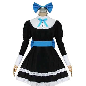 2017  Panty & Stocking with Garterbelt Heroine Anarchy Stocking Black Dress Cosplay Costume - DISCOUNT ITEM  0% OFF All Category