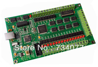 New 4 Axis CNC USB Card Mach3 200KHz Breakout Board Interface