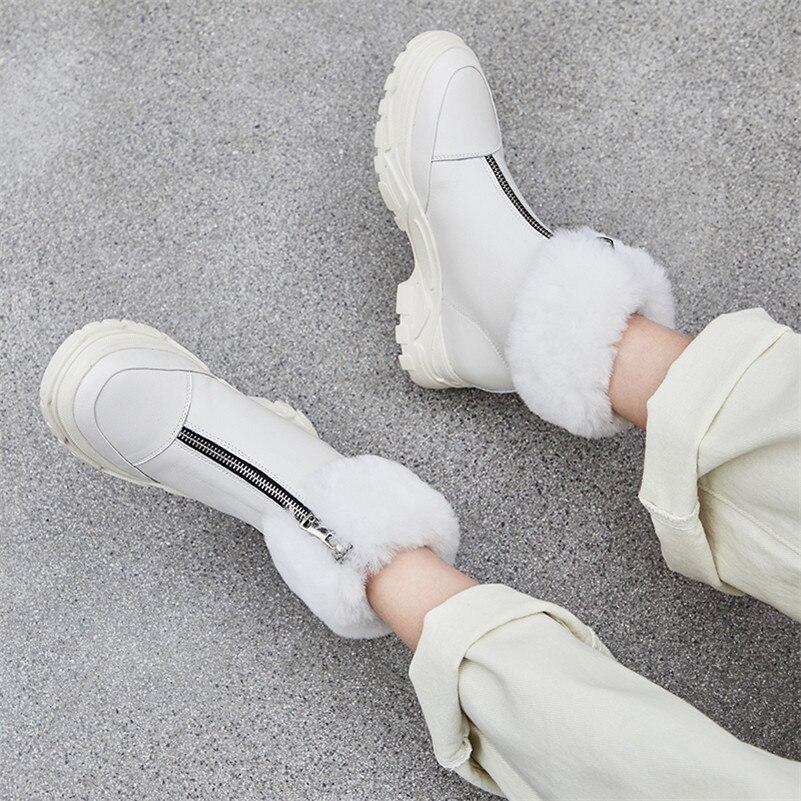 Caliente Plataformas Martin Las Nieve Mujer Genuino Invierno Botas Mujeres Calidad negro Alta Zapatos Corto Fedonas Talones La De 1 Mantener Cuero Para Medicina Básico qHnzAZPw