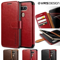 Original VERUS For LG G5 Leather Case Luxury Layered Dandy Series Magnetic Buckle Wallet Leather VERUS