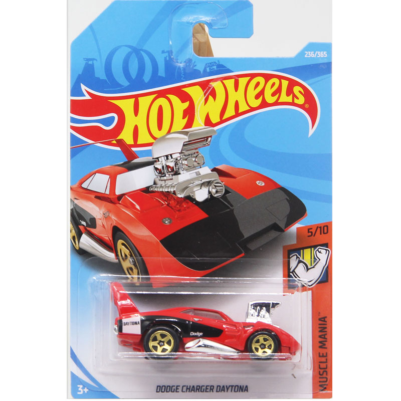 New Arrivals 2018 Hot Wheels 1:64 Dodge Charger Daytona Models Collection Kids Toys Vehi ...