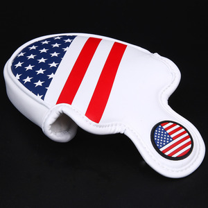 Image 5 - Siranlive Golf Mallet Head Cover Putter Cover with Magnetic Closure Golf Headcover USA Flag Free Shipping
