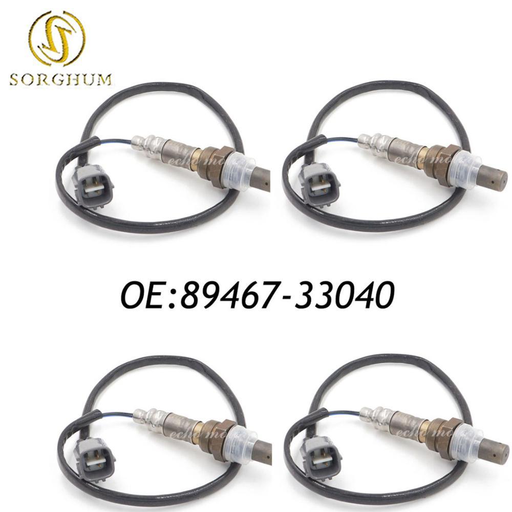 4PCS New Oxygen Sensor OEM 89467 33040 8946733040 For Camry ACV30 31 MCV30 4 Wire|sensor sensor|sensor wired|sensor oxygen - title=
