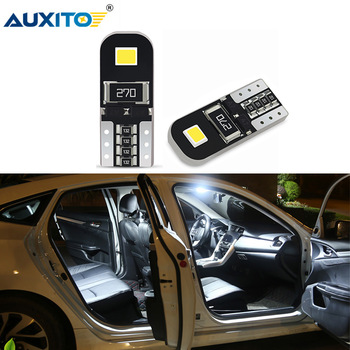 AUXITO 2x W5W T10 LED Canbus Bulb For BMW E46 E60 E90 E36 E30 E92 E65 F10 F30 Z4 M5 X5 E53 Car Interior Dome Map Reading Lights image