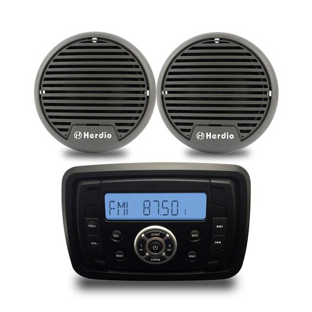 Outdoor Waterdichte Marine Radio Audio FMAM Ontvanger MP3 Bluetooth ...