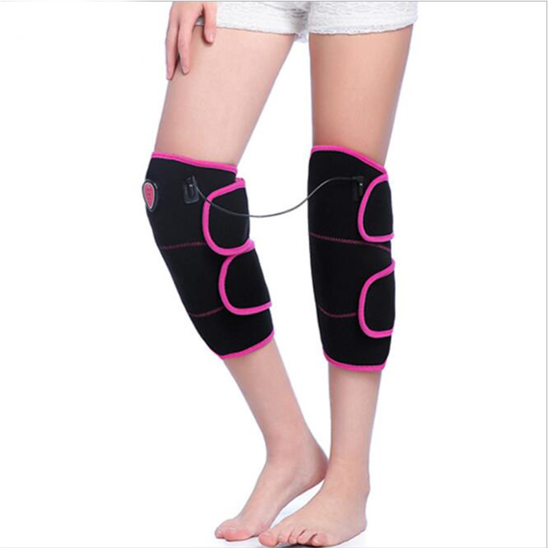 Top Quality Heated Pad Heat Therapy Knee Wrap Brace Thermotherapy Heating Pad Knee Injury Recovery Pain Relief Knee Protection 1pair health care knee brace support therapy compression sleeves for arthritis meniscus tear acl pain relief injury recovery