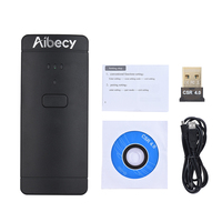 Aibecy Barcode Scanner Wireless USB Wired 1D 2D Bar Code Scanner QR PDF417 Bar Code Reader 130000 Inventory autoscanner