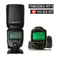Updated YONGNUO YN600EX RT II Auto TTL HSS Flash Speedlite YN E3 RT Controller For Canon