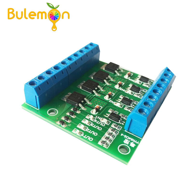 Mos Fet F5305s 4 Channels Pulse Trigger Switch Controller Pwm Input Steady For Motor Led 4 Way 4ch 4 Way Diy Electronic Module Distinctive For Its Traditional Properties Active Components Integrated Circuits