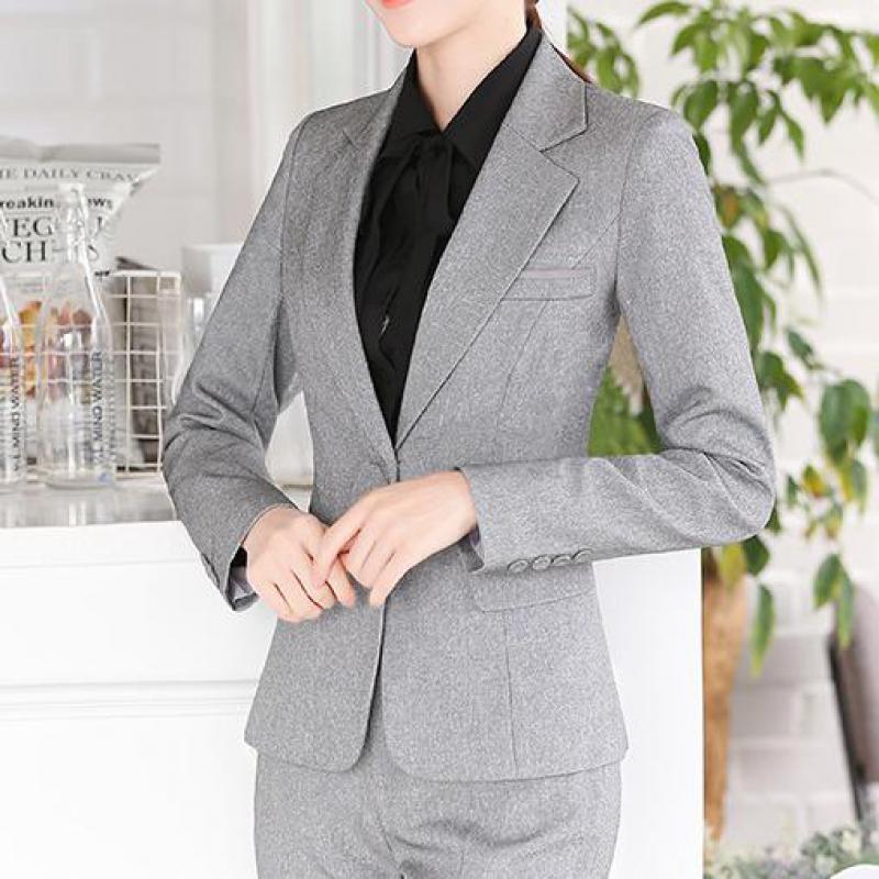 Herbst Beruf Mode Weißen Anzug Business Angelegenheiten Arbeit Kleidung Koreanische Blazer Feminino Formale Jacke Frauen Frühling Mantel Frauen Kleidung & Zubehör